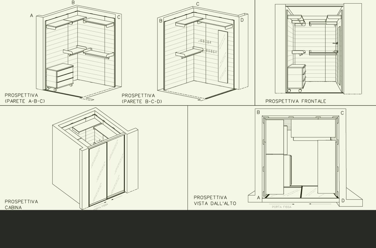 Tua la soluzione armadio su misura per le sfide for Piccolo costruttore di cabina