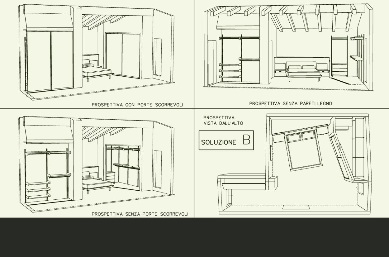 Arredare cabina armadio armadi e cabine softly arreda - Progetto cabina armadio ...