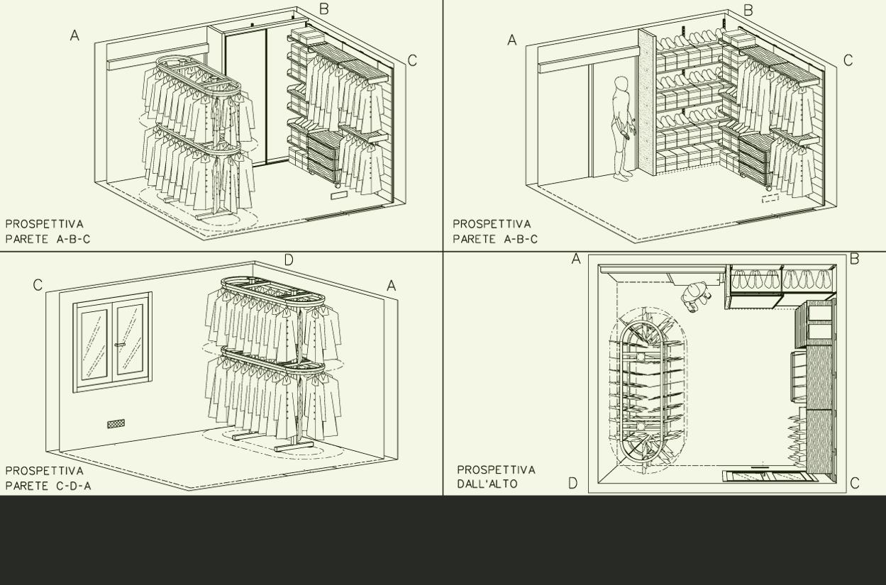 Tua la soluzione armadio su misura per le sfide - Progetto cabina armadio ...