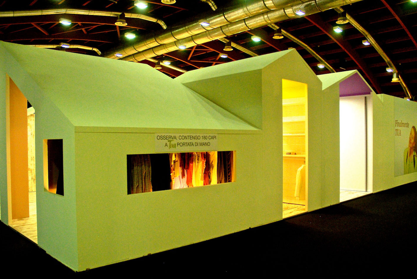 Tua la cabina armadio su misura for Fiera casa moderna udine